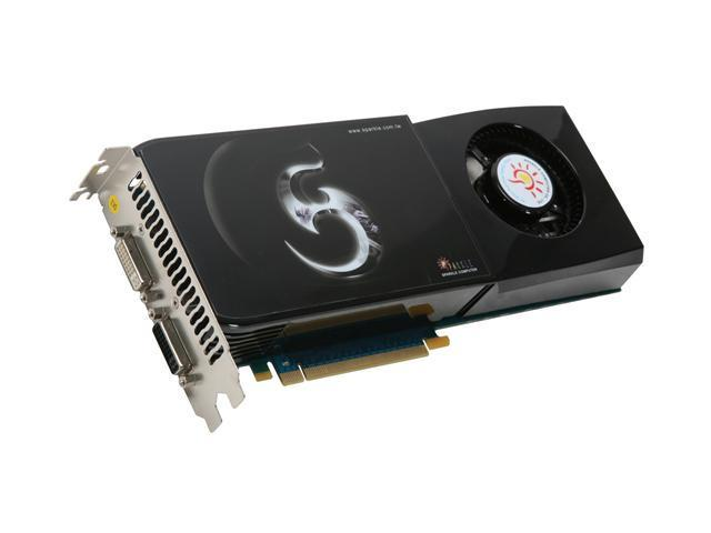 SPARKLE GeForce GTX 275 DirectX 10 SXX275896D3-VP 896MB 448-Bit GDDR3 PCI Express 2.0 x16 HDCP Ready SLI Support Video Card