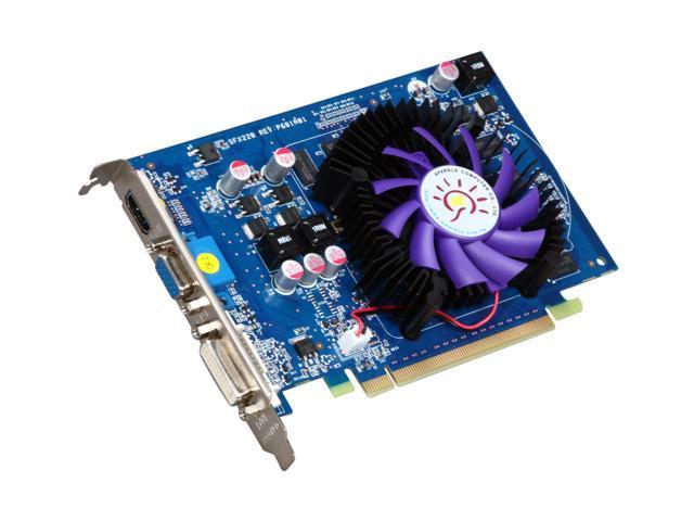 SPARKLE GeForce GT 220 DirectX 10.1 SXT2201024S3-NM 1GB 128-Bit DDR3 PCI Express 2.0 x16 HDCP Ready Video Card