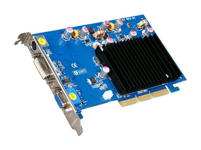 SPARKLE GeForce 6200 DirectX 9 700016 256MB 64-Bit DDR2 AGP 8X Video Card