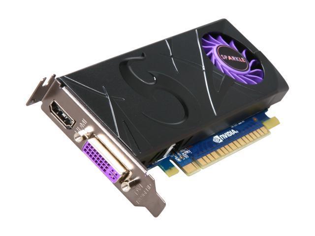 SPARKLE GeForce GT 430 (Fermi) DirectX 11 SXT4301024S3LHS 1GB 128-Bit DDR3 PCI Express 2.0 x16 HDCP Ready Low Profile Video Card