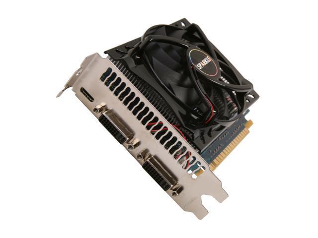 SPARKLE GeForce GTS 450 (Fermi) DirectX 11 X450S1024KDL 1GB 128-Bit GDDR5 PCI Express 2.0 x16 HDCP Ready SLI Support Video Card