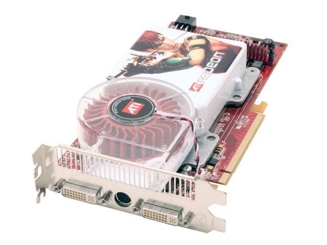 ATI Radeon X1900XT DirectX 9 100-435801 512MB 256-Bit GDDR3 PCI Express x16 CrossFireX Support Video Card