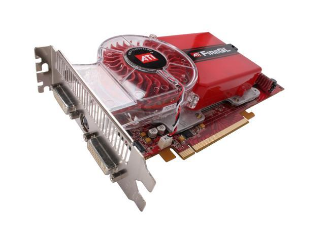 AMD FireGL V7300 100-505144 512MB 512-bit GDDR3 PCI Express x16 Workstation Video Card