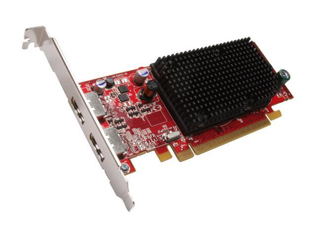 AMD FireMV 2260 100-505534 256MB GDDR2 PCI Express x16 Low Profile Workstation Video Card - OEM