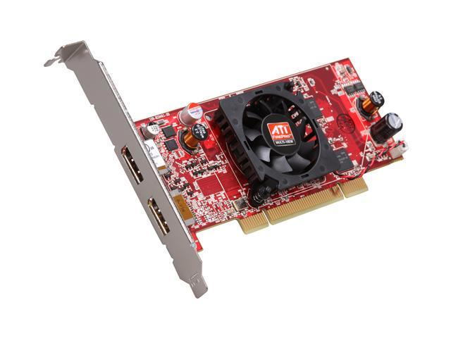AMD FireMV 2260 100-505529 256MB GDDR2 PCI Low Profile Workstation Video Card