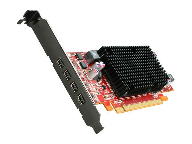 AMD FirePro 2460 100-505611 512MB GDDR5 PCI Express x16 Low Profile Workstation Video Card