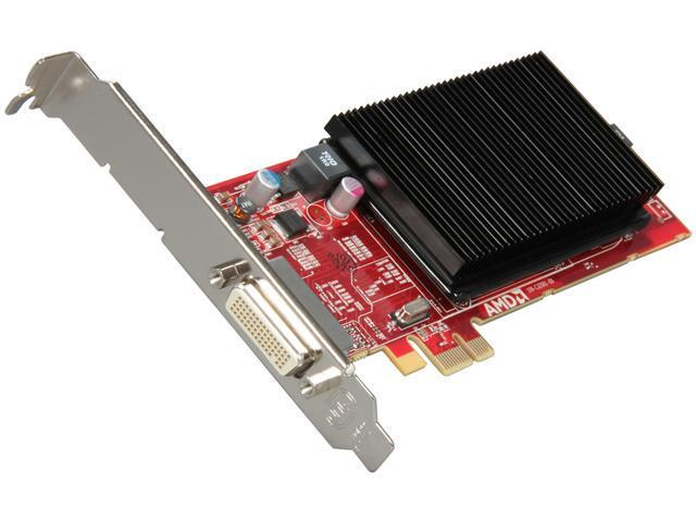 AMD FirePro 2270 100-505972 512MB DDR3 PCI Express 2.1 x1 Low Profile Workstation Video Card