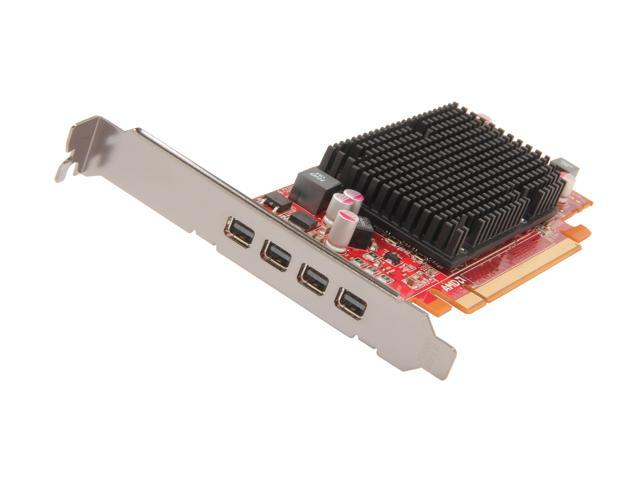 AMD FirePro 2460 102-C07001 512MB PCI Express x16 Low Profile Workstation Video Card