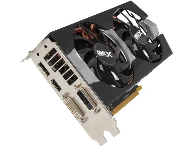 SAPPHIRE Radeon R9 270X DirectX 11.2 100364-4GL Video Card (Dual-X Edition)
