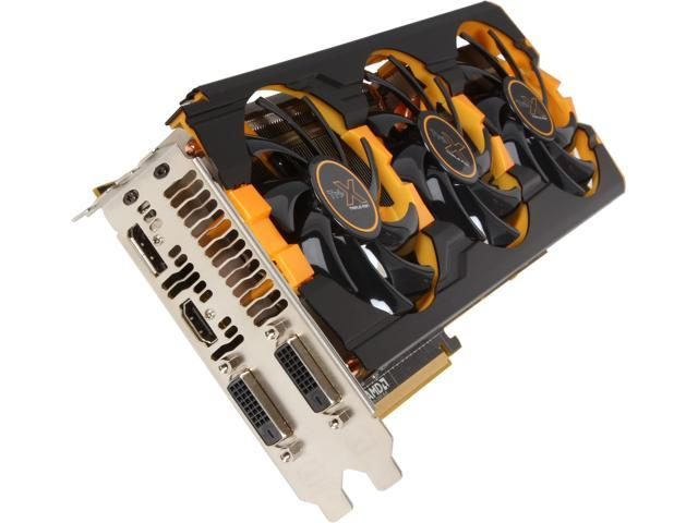 SAPPHIRE TRI-X OC 100362-2SR Radeon R9 290 4GB 512-bit GDDR5 PCI Express 3.0 Video Card