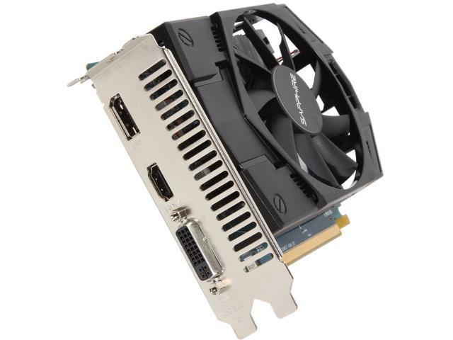 SAPPHIRE Radeon HD 7770 DirectX 11 100358-2L 1GB 128-Bit GDDR5 PCI Express 3.0 CrossFireX Support Video Card