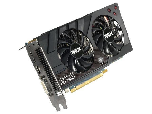 SAPPHIRE Radeon HD 7850 DirectX 11 11200-01CPO Video Card