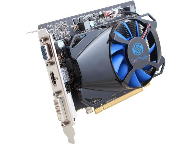 SAPPHIRE Radeon R7 350 DirectX 12 100385L 2GB 128-Bit GDDR5 PCI Express 3.0 CrossFireX Support Video Card