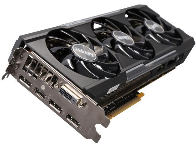 SAPPHIRE NITRO Radeon R9 390 DirectX 12 11244-00-CPO 8GB 512-Bit GDDR5 PCI Express 3.0 2.2 Slot, ATX Video Cards
