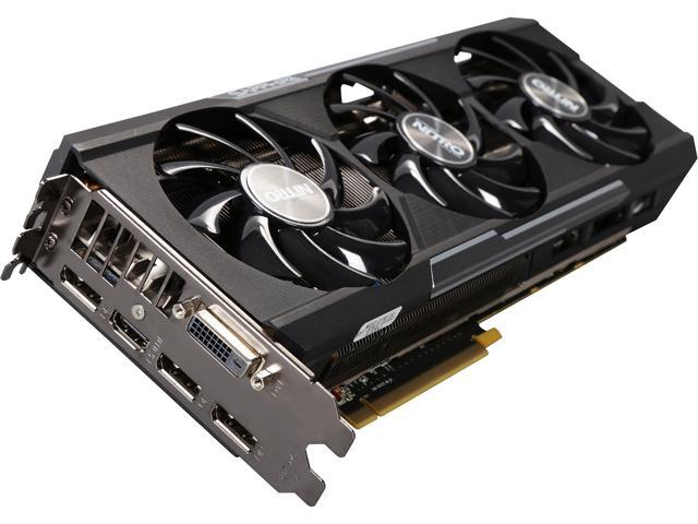 SAPPHIRE NITRO Radeon R9 390 DirectX 12 11244-01-CPO 8GB 512-Bit GDDR5 PCI Express 3.0 x16 HDCP Ready Tri-X OC Version w/ backplate (UEFI) Video Card