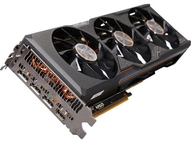 SAPPHIRE Radeon R9 Fury DirectX 12 11247-00-CPO 4GB 4096-Bit HBM PCI Express 3.0 x16 HDCP Ready CrossFireX Support TRI-X (UEFI) Video Card
