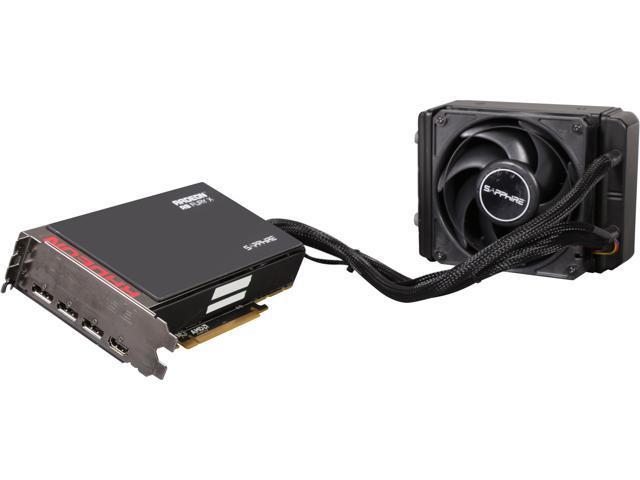 Sapphire Radeon R9 FURY X 4GB HBM PCI-E HDMI / TRIPLE DP