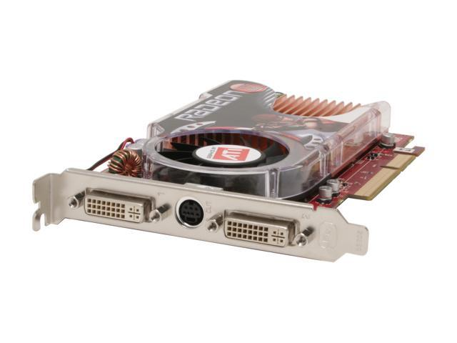 GECUBE Radeon X1650 DirectX 9 GC-RX165GA2-E3R 512MB 128-Bit GDDR2 AGP 4X/8X Video Card