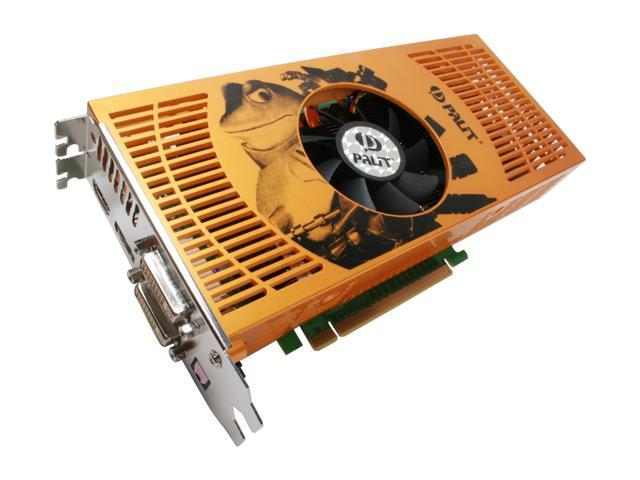 PALiT NE/960TSX0252 GeForce 9600GT SONIC 512MB 256-bit GDDR3 PCI Express 2.0 x16 HDCP Ready SLI Supported Video Card