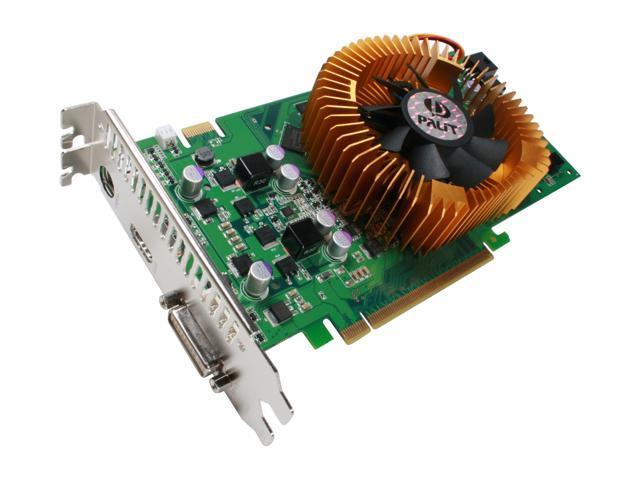 Palit 9 GeForce 9600 GT DirectX 10 NE/9600T+0152 512MB 256-Bit GDDR3 PCI Express 2.0 x16 HDCP Ready SLI Support Video Card