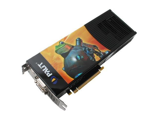 Palit GeForce 9800 GX2 DirectX 10 NE/98GX2+H305 Video Card