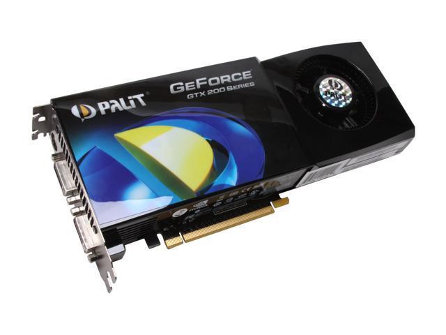 Palit GeForce GTX 280 DirectX 10 NE/TX280+T305 Video Card