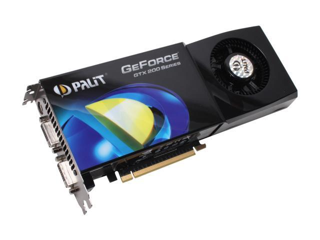 Palit GeForce GTX 260 DirectX 10 NE/TX260+T394 Video Card