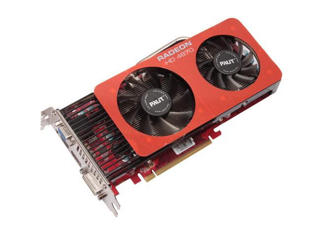 Palit Radeon HD 4870 DirectX 10.1 AE=4870S+0552 Video Card