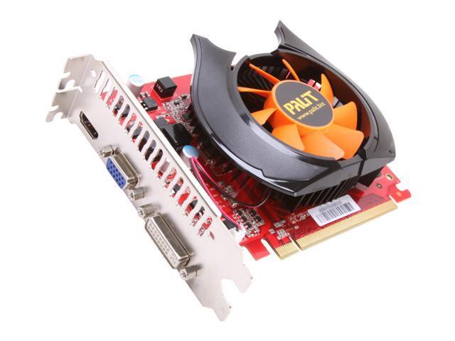 Palit GeForce GT 240 DirectX 10.1 NEAT2400FHD01 1GB 128-Bit DDR3 PCI Express 2.0 x16 HDCP Ready Video Card