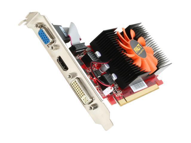 Palit GeForce GT 430 (Fermi) DirectX 11 NEAT4300FHD01 1GB 128-Bit DDR3 PCI Express 2.0 x16 HDCP Ready Low Profile Video Card