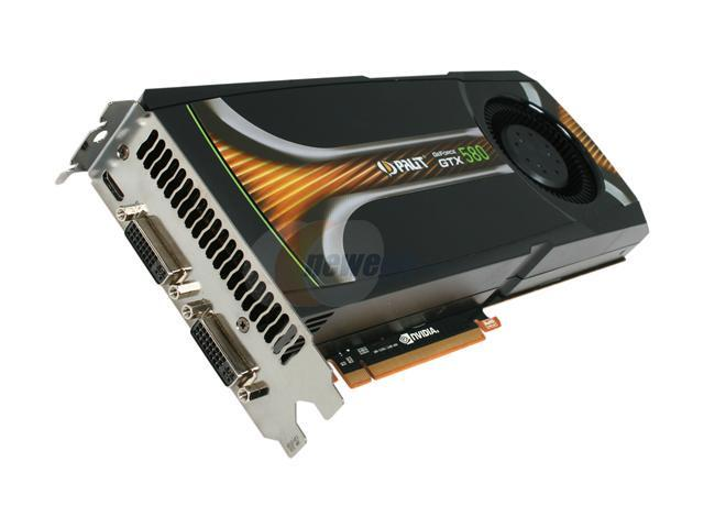 Palit GeForce GTX 580 (Fermi) DirectX 11 NE5X5800F09CB 1536MB 384-Bit GDDR5 PCI Express 2.0 x16 HDCP Ready SLI Support Video Card