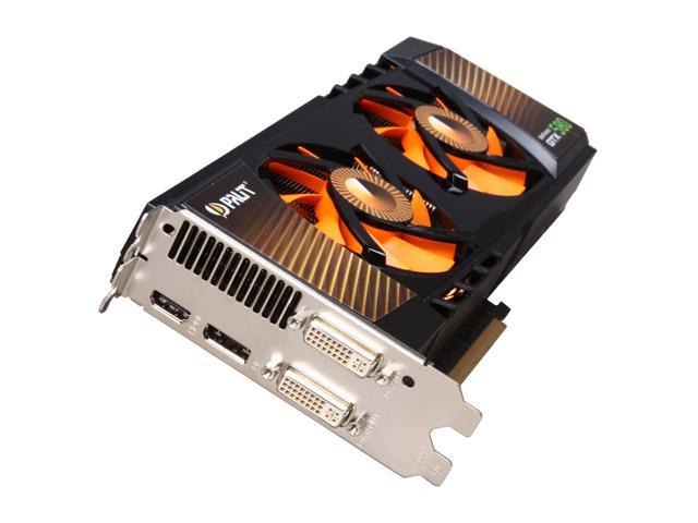 Palit GeForce GTX 580 (Fermi) DirectX 11 NE5X5800F10CB Video Card