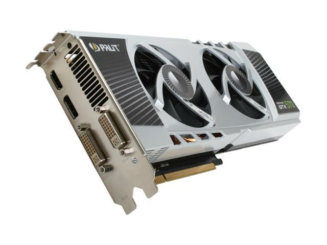 Palit GeForce GTX 570 (Fermi) DirectX 11 NE5X570HF10DA Video Card