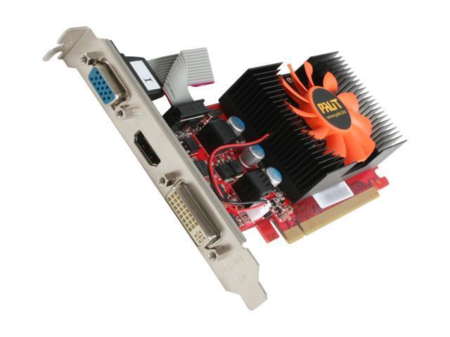 Palit GeForce GT 430 (Fermi) DirectX 11 NEAT4300HD41-1081F 2GB 128-Bit DDR3 PCI Express 2.0 x16 HDCP Ready Low Profile Ready Video Card