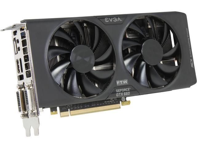 EVGA GeForce GTX 660 DirectX 12 (feature level 11_0) 02G-P4-3063-RX Video Card w/ ACX Cooler