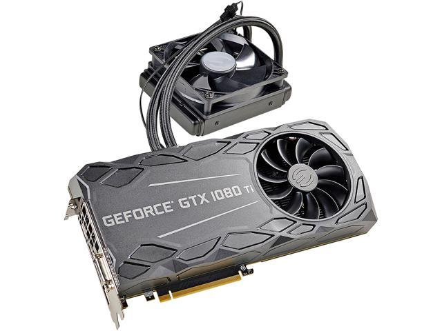 EVGA GeForce GTX 1080 Ti FTW3 HYBRID GAMING, 11G-P4-6698-KR