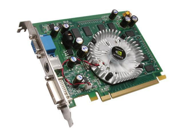 ZOTAC GeForce 7600GS DirectX 9 ZT-76SE250-HSL Video Card