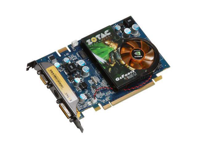 ZOTAC GeForce 8600 GT DirectX 10 ZT-86TEK2P-FSL Video Card