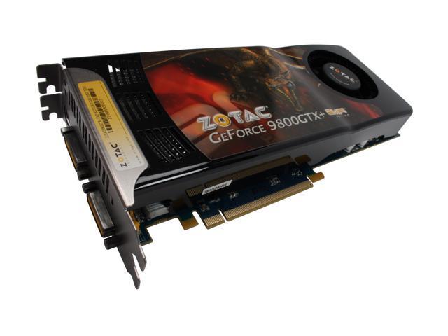 ZOTAC GeForce 9800 GTX+ DirectX 10 ZT-98PES3P-FCP Video Card