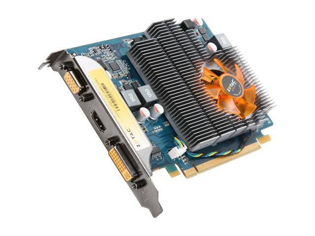 ZOTAC GT GeForce GT 220 DirectX 10.1 ZT-20201-10L 1GB 128-Bit DDR3 PCI Express 2.0 x16 HDCP Ready Video Card