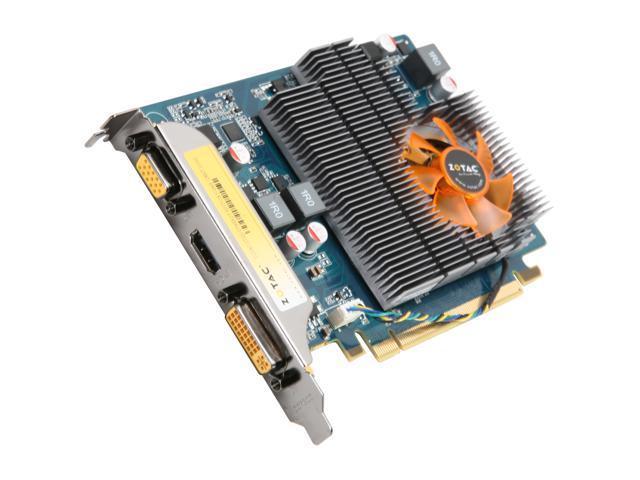 ZOTAC GeForce GT 220 DirectX 10.1 ZT-20202-10L Video Card