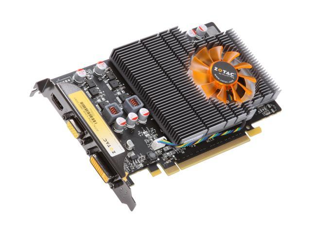 ZOTAC GT GeForce GT 240 DirectX 10.1 ZT-20401-10L 512MB 128-Bit GDDR5 PCI Express 2.0 x16 HDCP Ready Video Card