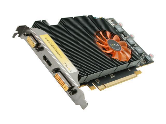 ZOTAC GeForce 9800 GT DirectX 10 ZT-98GES3M-FSL 512MB 256-Bit GDDR3 PCI Express 2.0 x16 HDCP Ready SLI Support Video Card