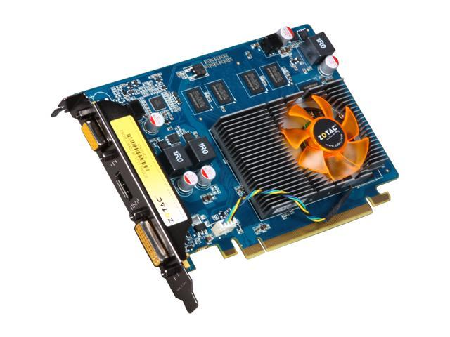 ZOTAC Synergy Edition GeForce 210 DirectX 10.1 ZT-20303-10L 1GB 128-Bit DDR2 PCI Express 2.0 x16 HDCP Ready Video Card