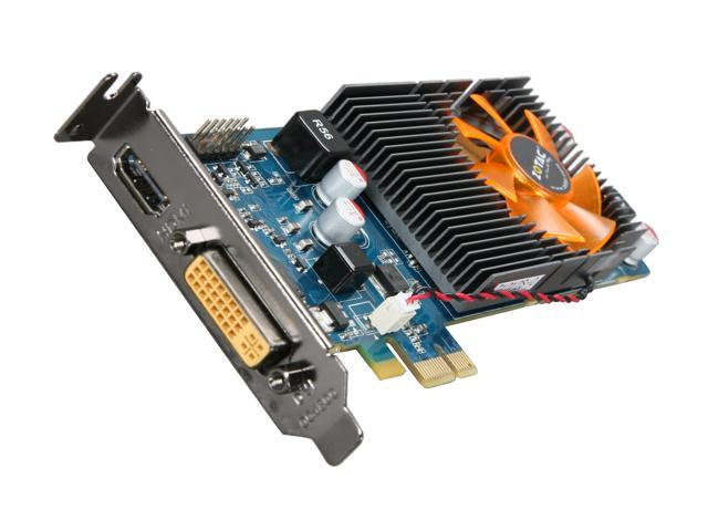 ZOTAC ION Graphics Processor DirectX 10.1 ION-GPU-A-E 512MB DDR3 PCI Express x1 HDCP Ready Low Profile Ready Video Card