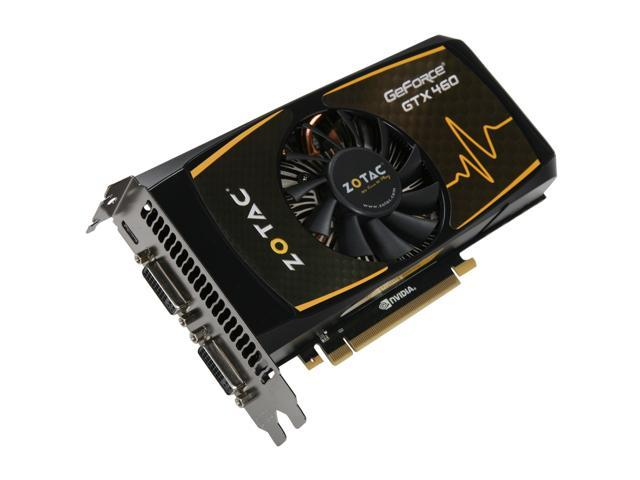 ZOTAC Synergy Edition GeForce GTX 460 (Fermi) DirectX 11 ZT-40401-10P Video Card
