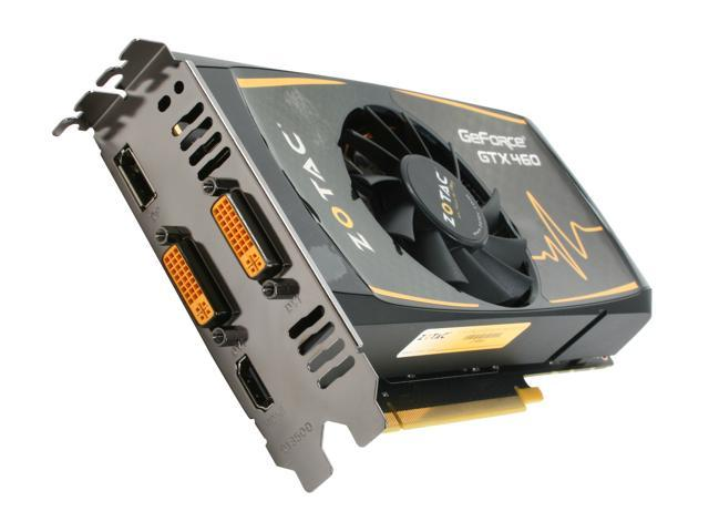 ZOTAC GeForce GTX 460 (Fermi) DirectX 11 ZT-40404-10P Video Card