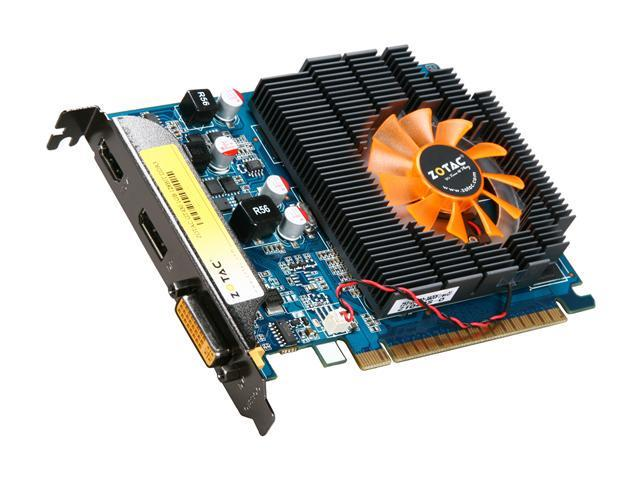 ZOTAC GT GeForce GT 430 (Fermi) DirectX 11 ZT-40602-10L 1GB 128-Bit DDR3 PCI Express 2.0 x16 HDCP Ready Video Card