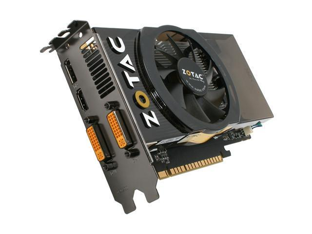ZOTAC GTS GeForce GTS 450 (Fermi) DirectX 11 ZT-40503-10L 1GB 128-Bit GDDR5 PCI Express 2.0 x16 HDCP Ready SLI Support Video Card