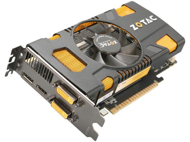ZOTAC AMP! GeForce GTX 550 Ti (Fermi) DirectX 11 ZT-50402-10L 1GB 192-Bit GDDR5 PCI Express 2.0 x16 HDCP Ready SLI Support Video Card